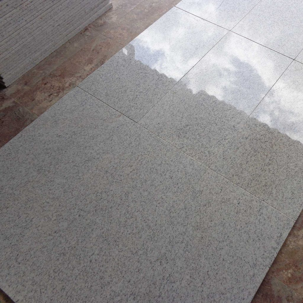 Imperial white granite tile products
