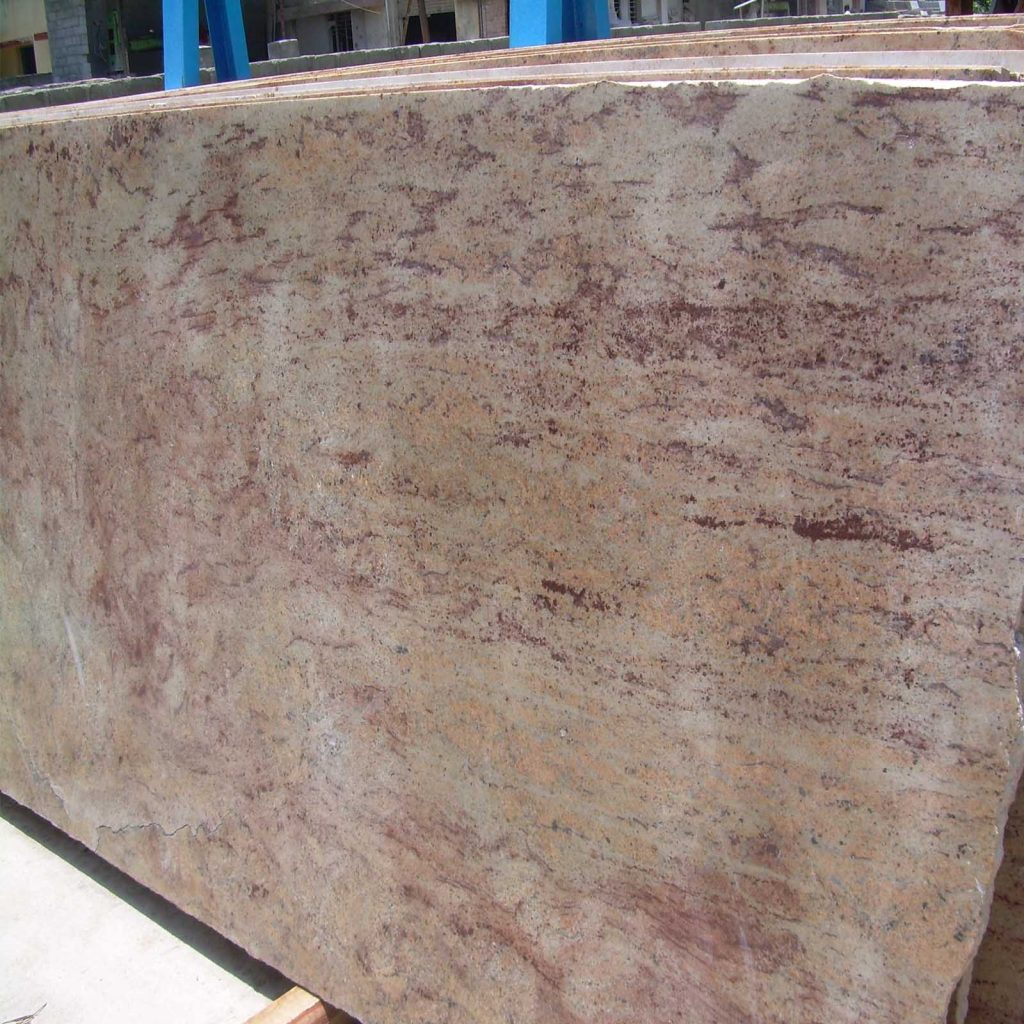 ivory brown granite cutter slab product