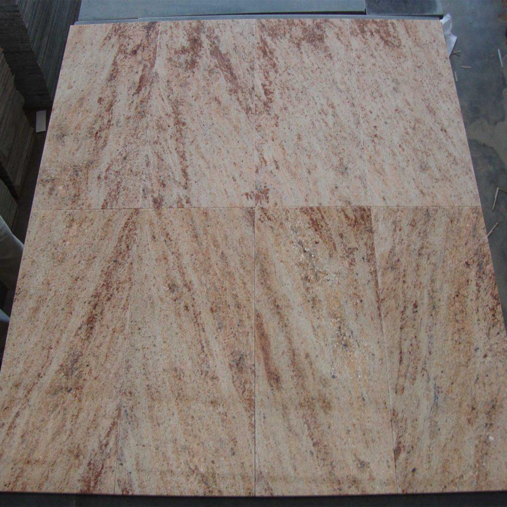 Ivory brown granite tile product