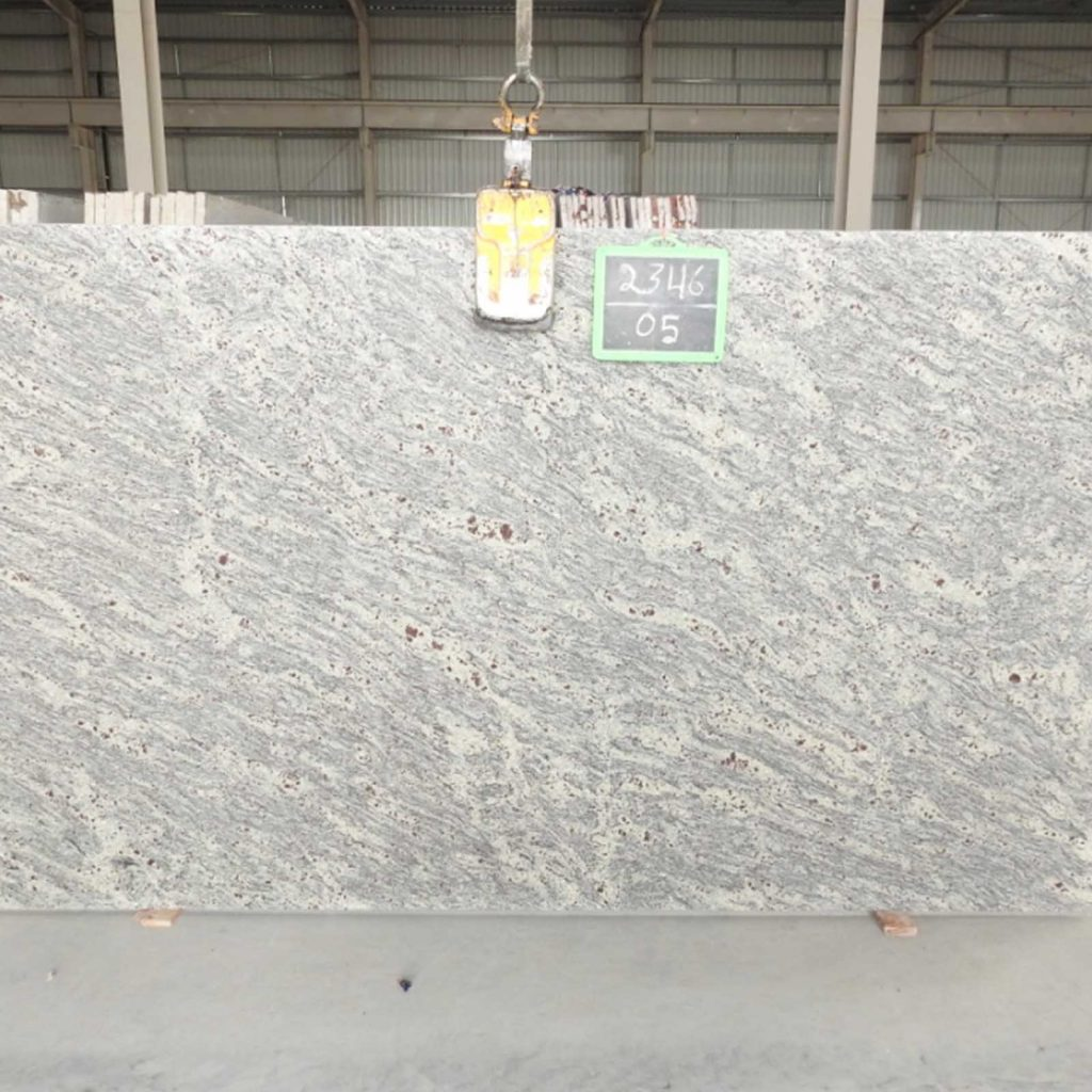 New Kashmir white granite gangsaw slab supplier