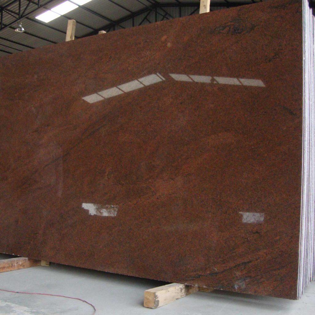 Red multicolor granite gangsaw slab supplier