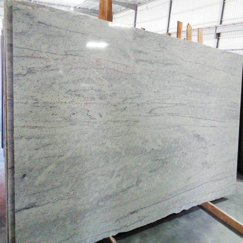 River white granite gangsaw slab product