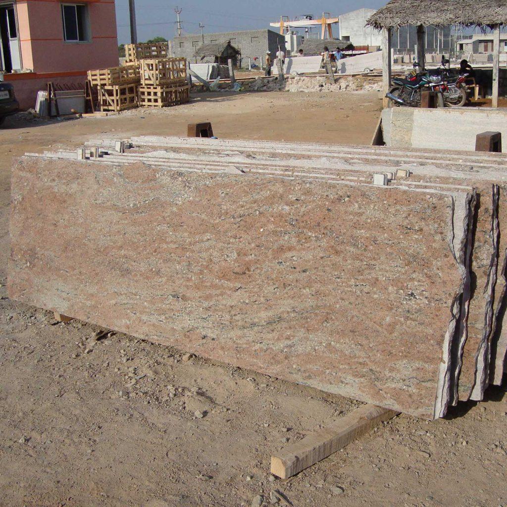 rose wood granite cutter slab manufacturer