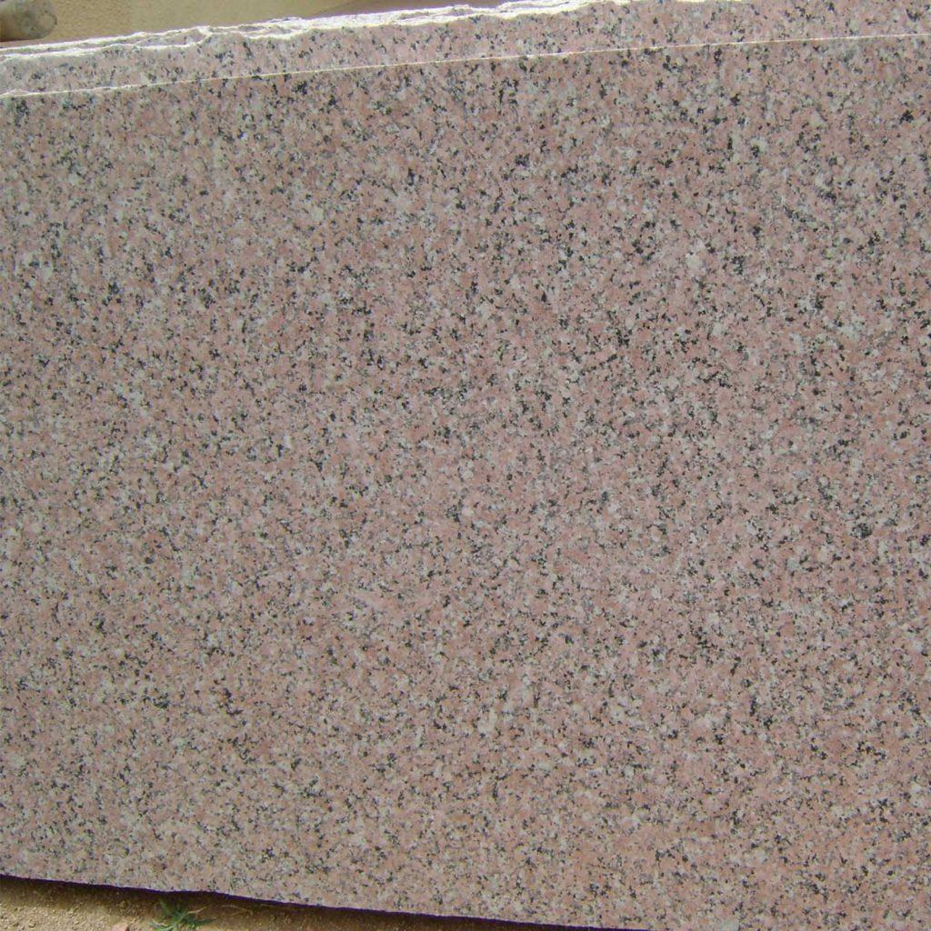 rosy pink granite cutter slabs