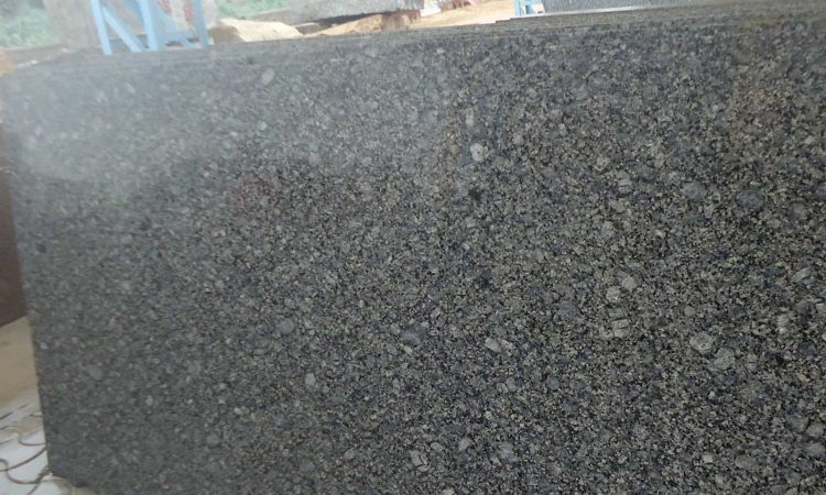 Topaz blue granite cutter slabs