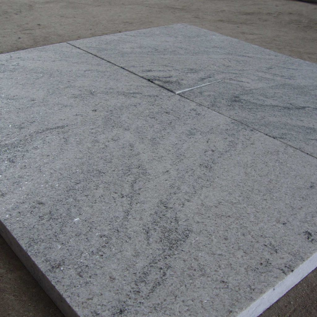 Viscon white granite tile exporter