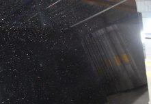 black galaxy slab in granite