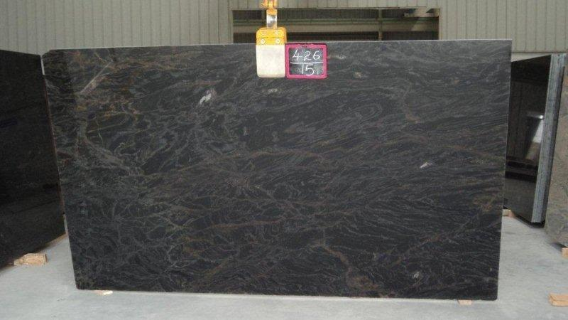 black marine granite slabs supplier