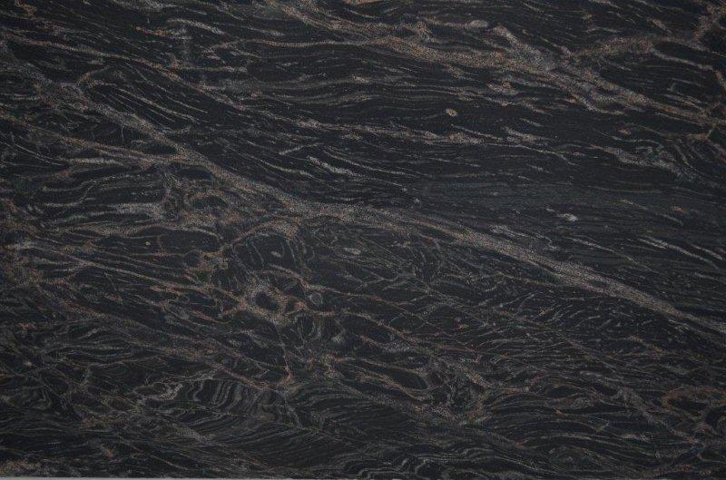 Black marine granite slabs