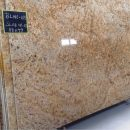 Ivory gold granite slab