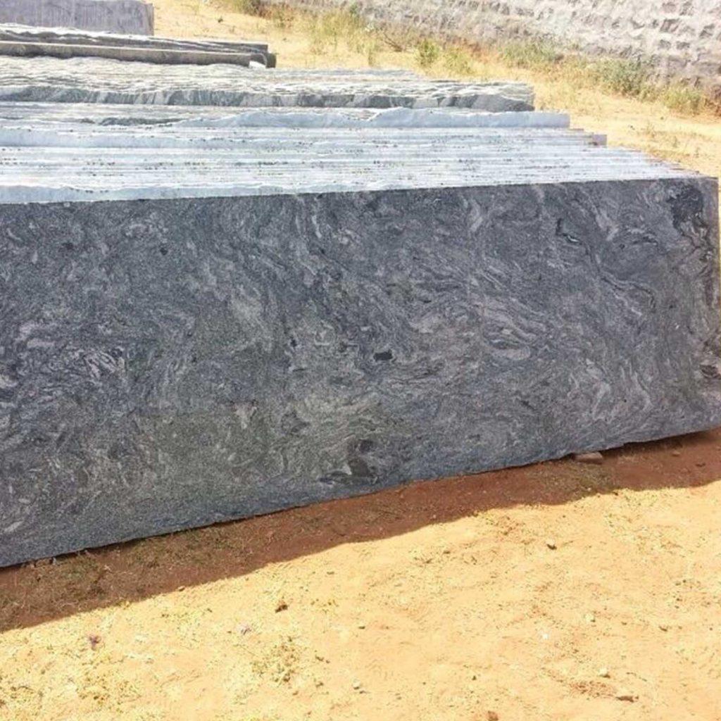 Kuppam green granite cutter slab supplier