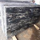 black marquna granite cutter slab