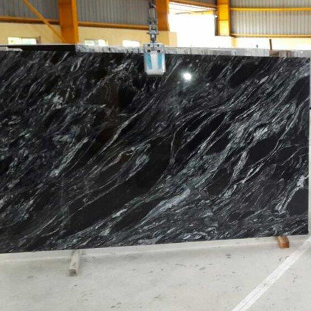 black marquna cutter slab supplier