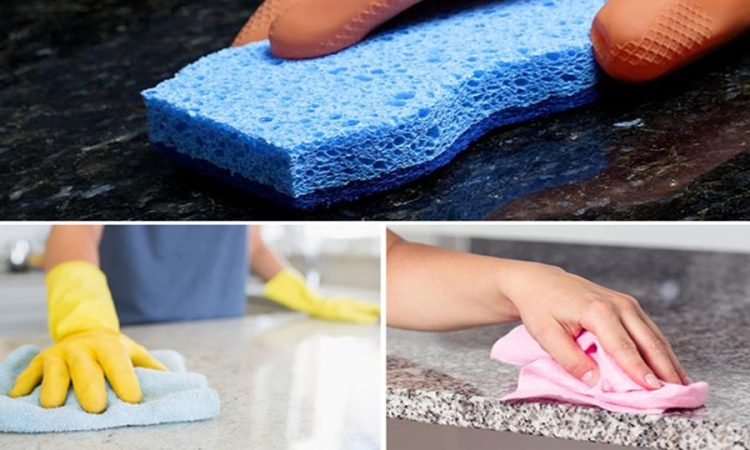 Cleaning Polishing Sealing and Protection of Granite Countertops