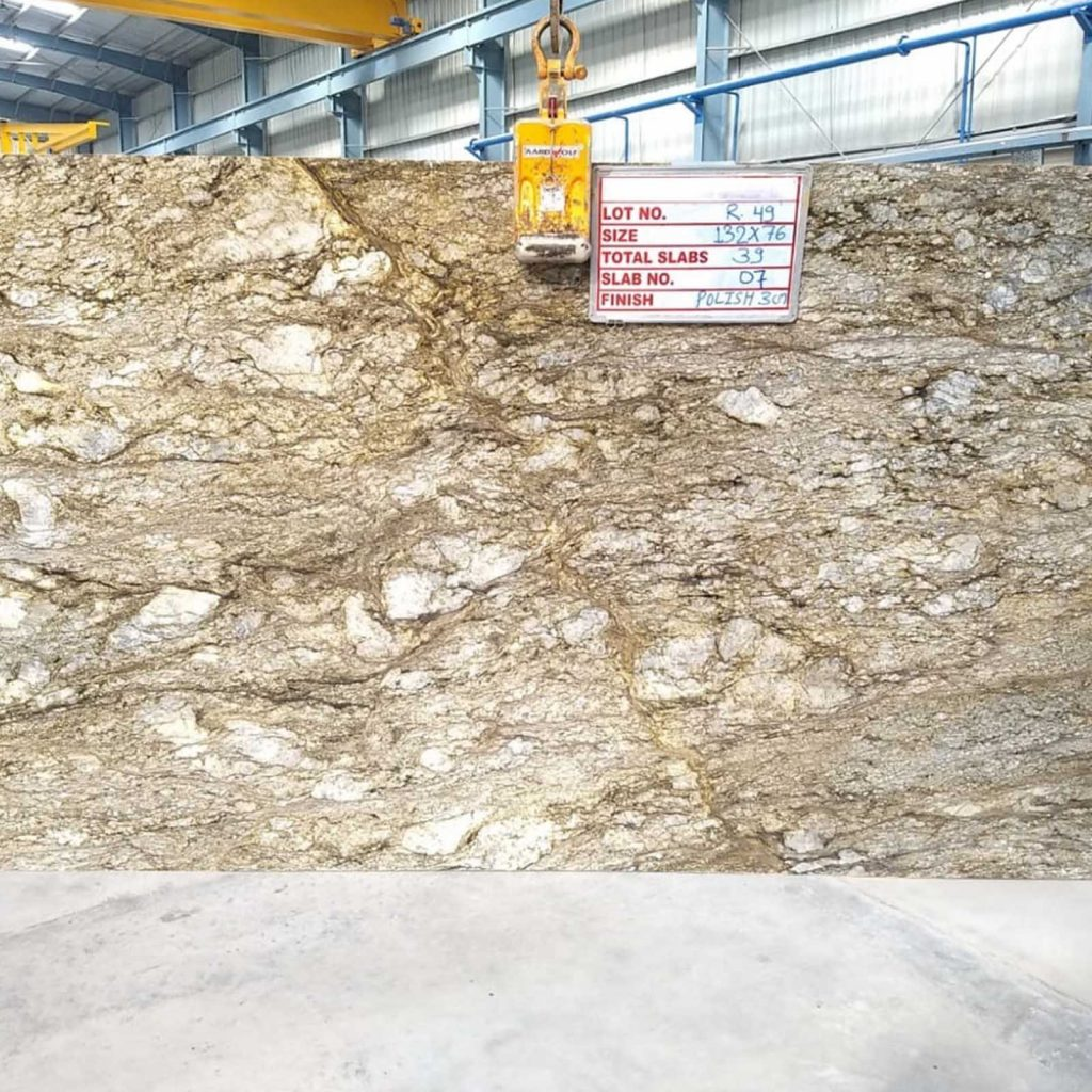 Blue dunes gangsaw slab product