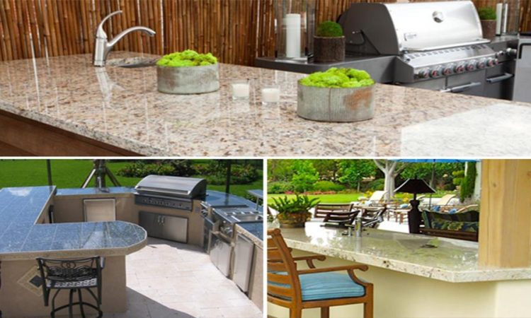 Effectively Using Granite Countertops in Outdoor Kitchens