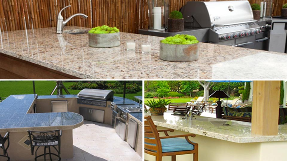 Indian Granite Stone Countertops For Outdoor Kitchens
