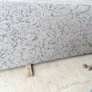 French white granite cutter slab