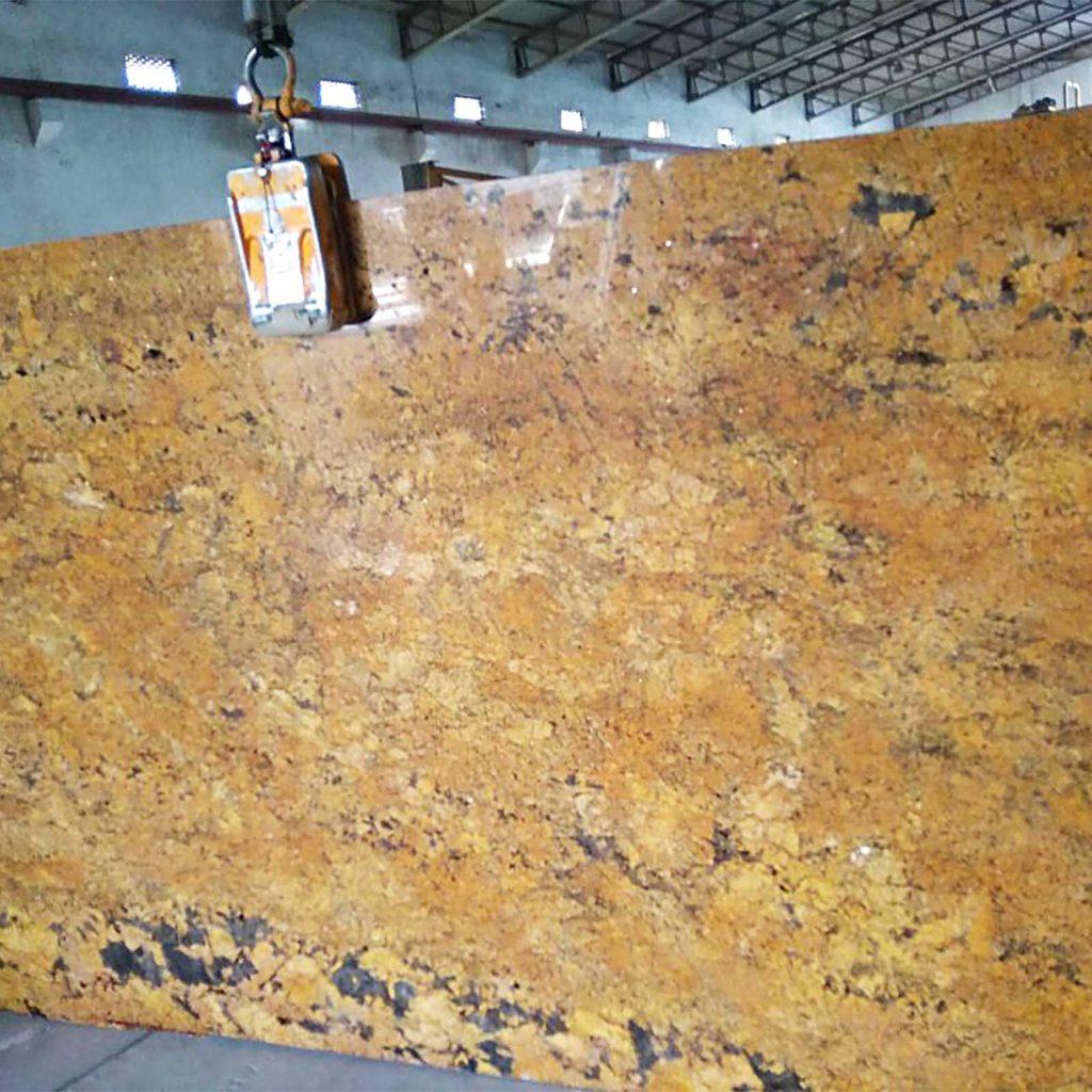 Alaska gold granite slab supplier