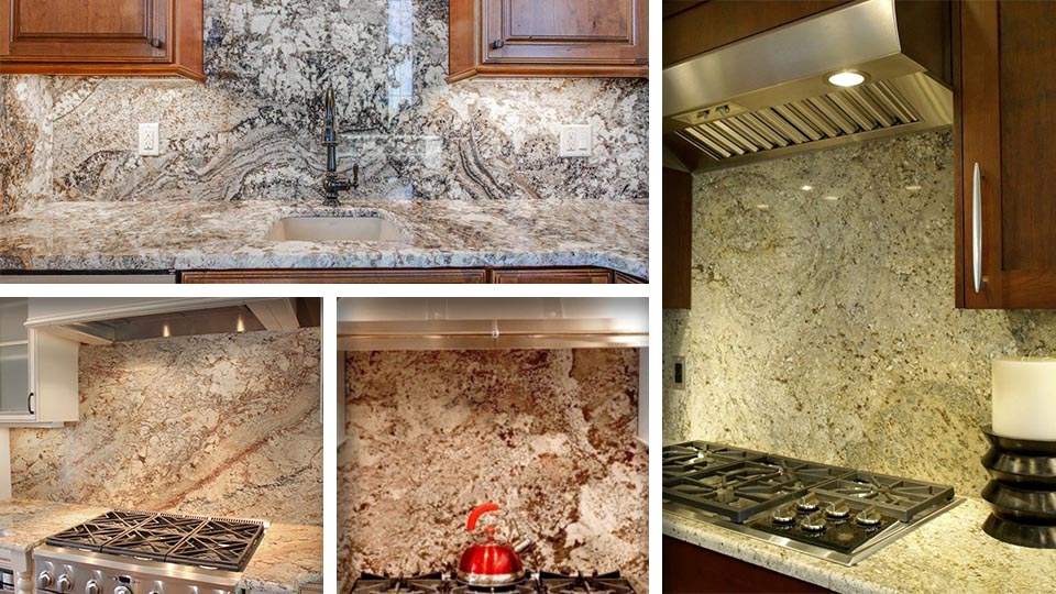 Granite backsplash in kitchen - Pros and cons of installation