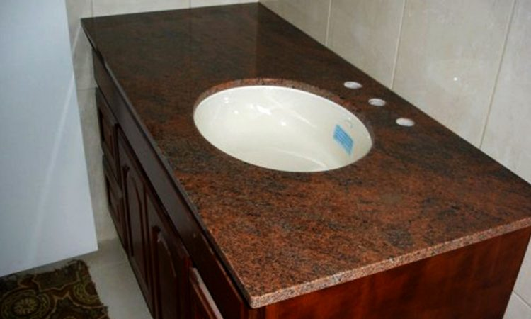 Red-Multicolor-Granite-Bathroom-Vanity