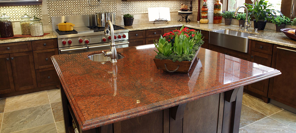 Red-Multicolor-Granite-Kitchen-Countertop