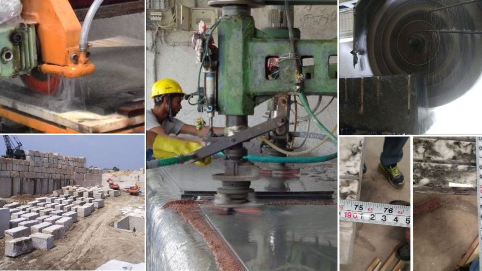 granite manufacturing and processing