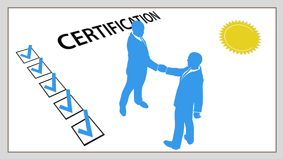 Credibility certification for granite industry