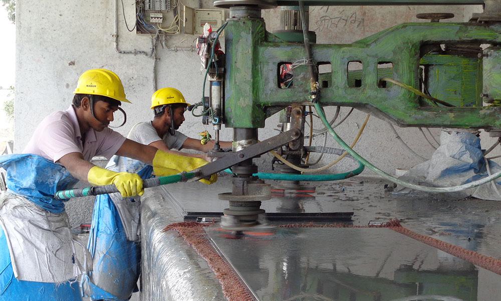 granite processing