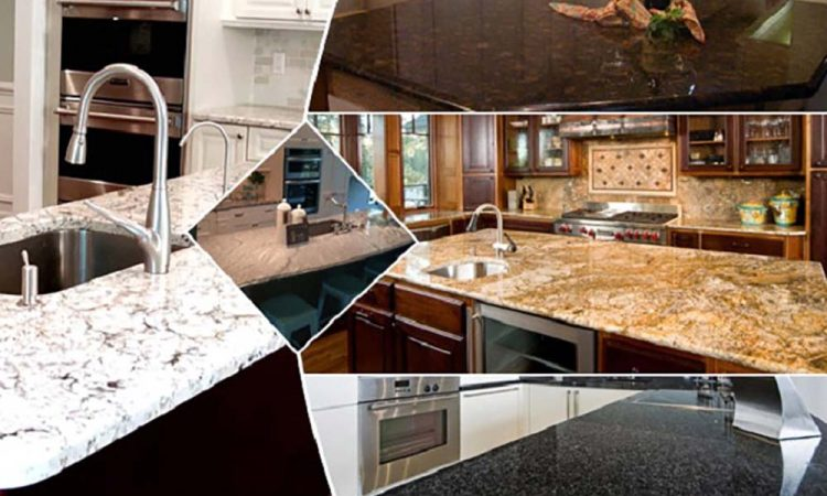 Kitchen Countertop collage