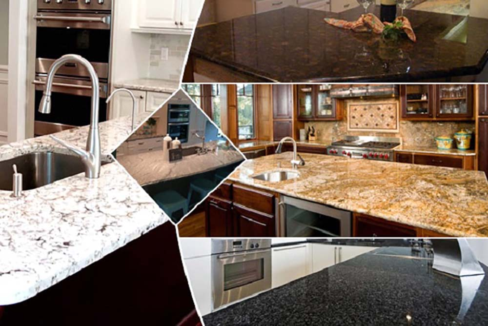 granite kitchen tops colours from granite exporters to paint ...