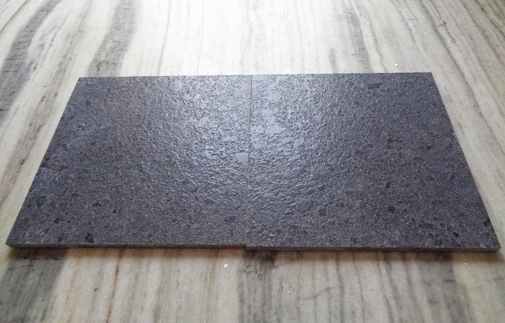 Steel grey _ Leather Finish