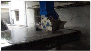 two cutter granite machine