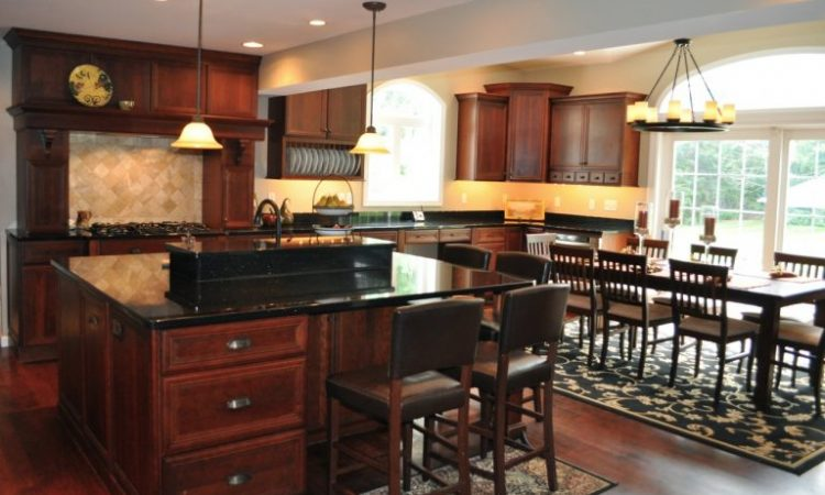 Dark to Black Color of Granite Countertops