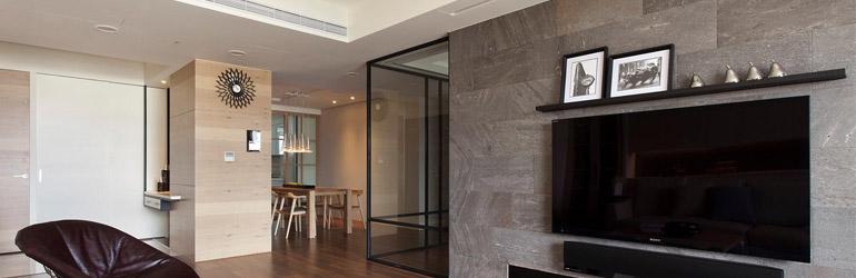 Granite wall tile for living room