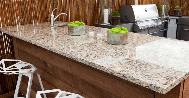 Maintaining Granite Countertops in Outdoor Kitchens