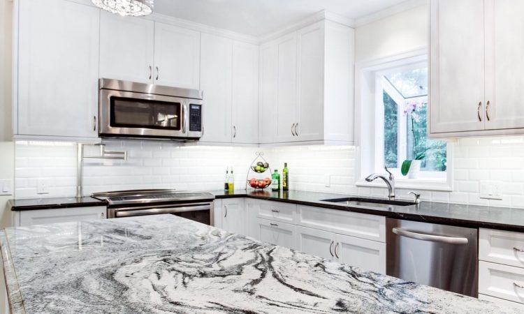 Viscon White Granite Countertop