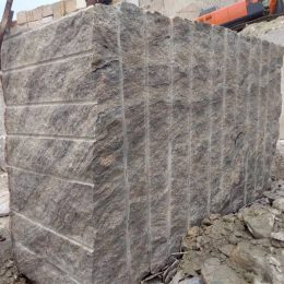 Ivory White Granite Block