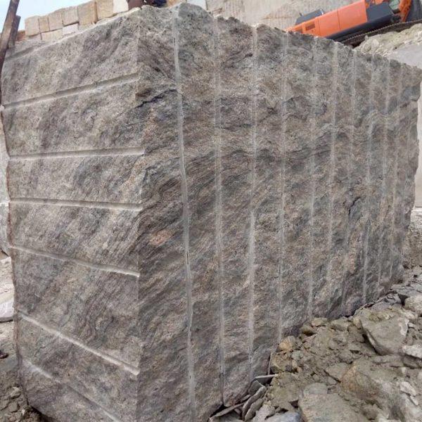 Ivory White Granite Block