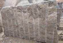 Ivory White Granite Rough Block
