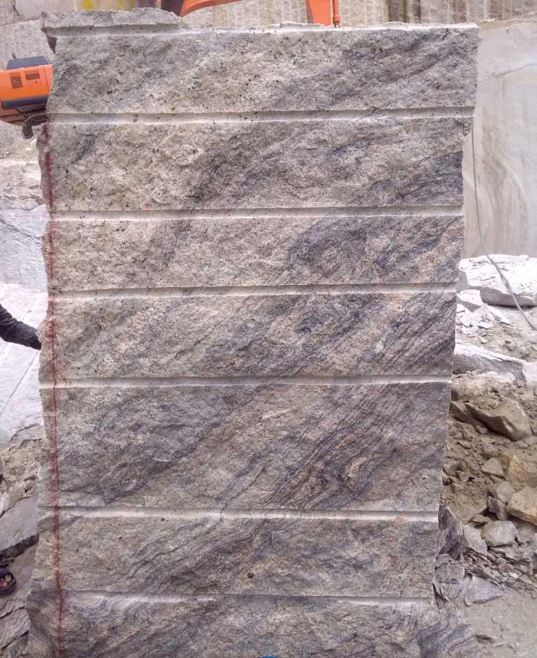 Ivory White Granite Rough Block Supplier