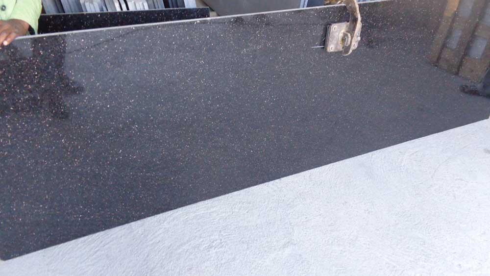 standard black galaxy cutter slab