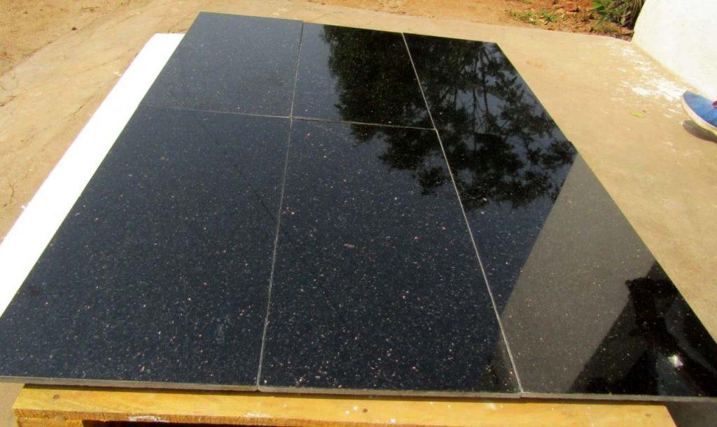 Black Galaxy Floor tiles