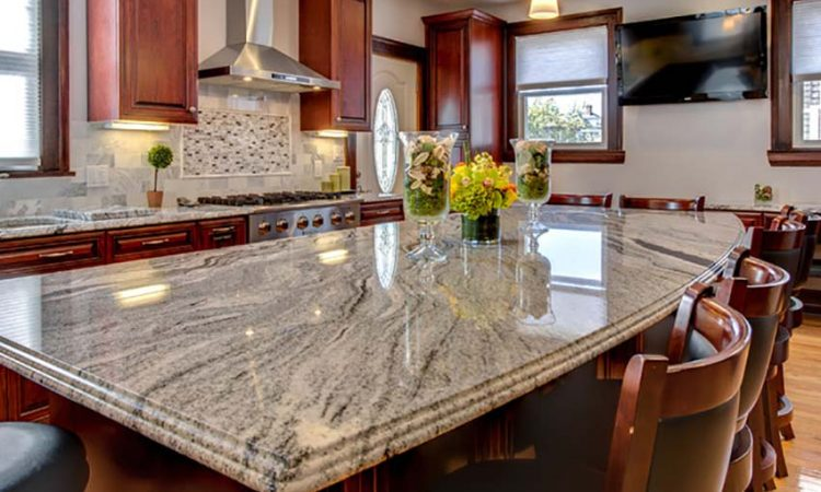 viscont white Granite countertop