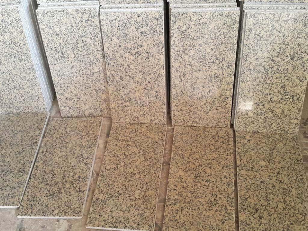 Crystal yellow tiles