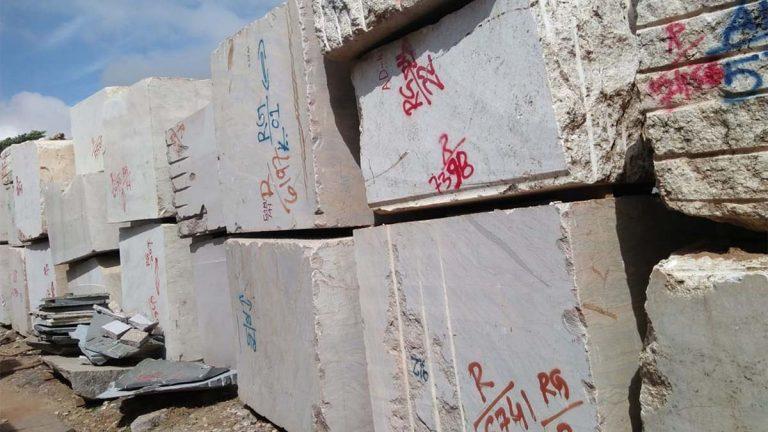 Granite Blocks in factory
