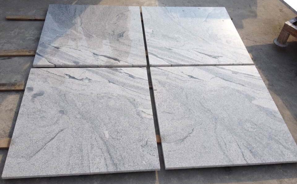 Viscon white granite tiles