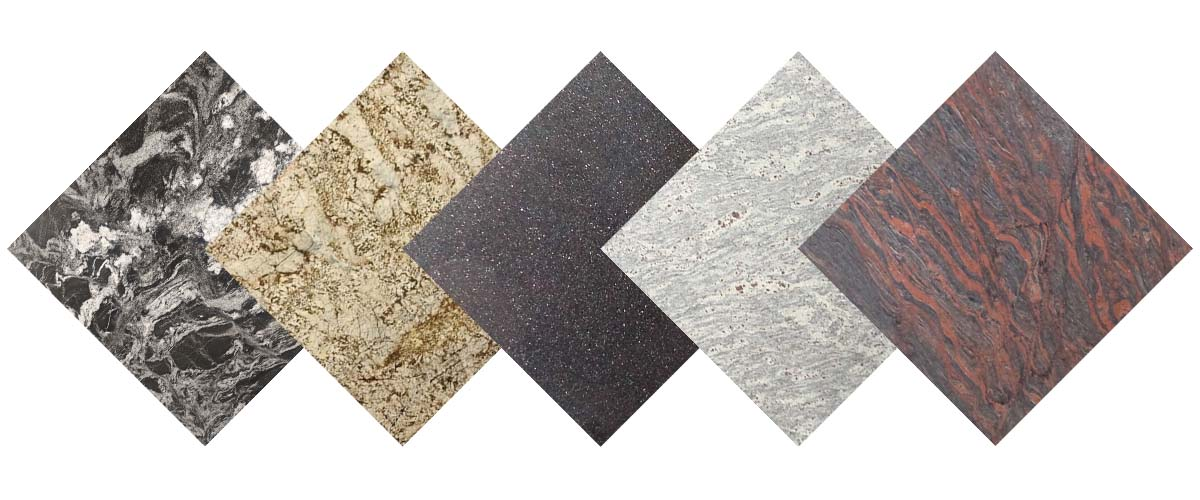 Most popular granite colors