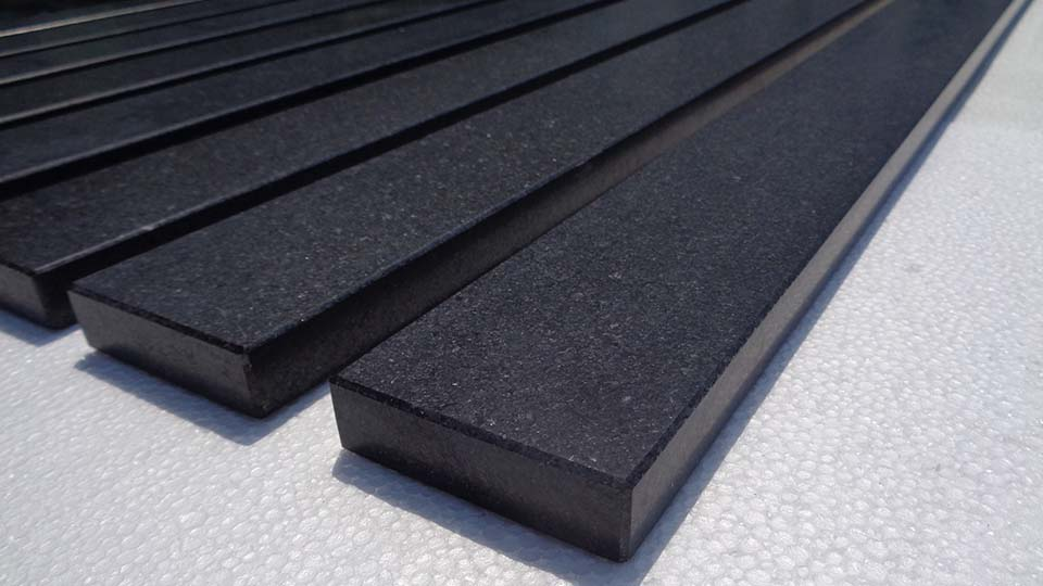 Window Sills Made Of Granite In Black For Home Upgrade