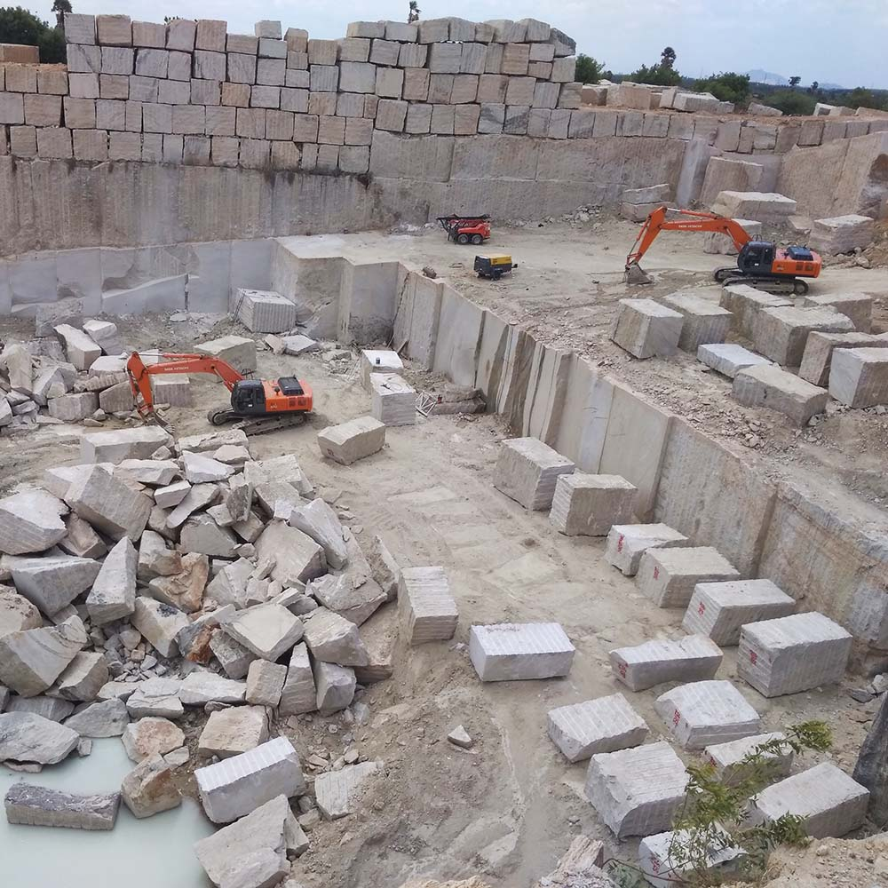 Granite Quarry in India
